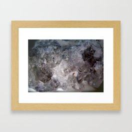 Celestite Variation Framed Art Print
