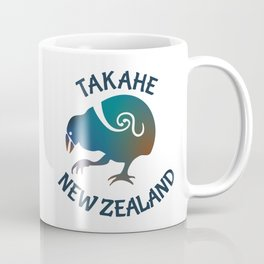 TAKAHE New Zealand Native bird Coffee Mug