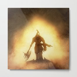 Game of Trolls Metal Print