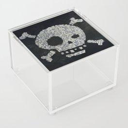 Confetti's skull Acrylic Box