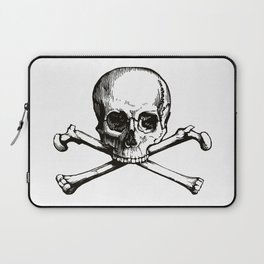 Skull and Crossbones | Jolly Roger Laptop Sleeve