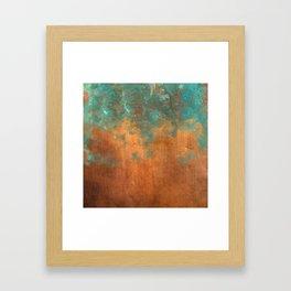 Green conquers all Framed Art Print