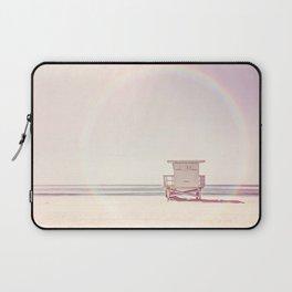 Beach hut Laptop Sleeve