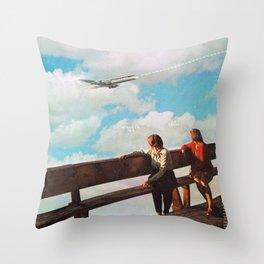 Trajectory Throw Pillow