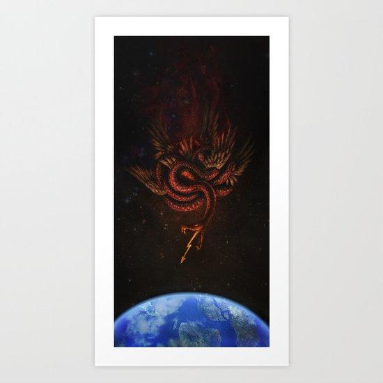 The Conqueror Wyrm Art Print