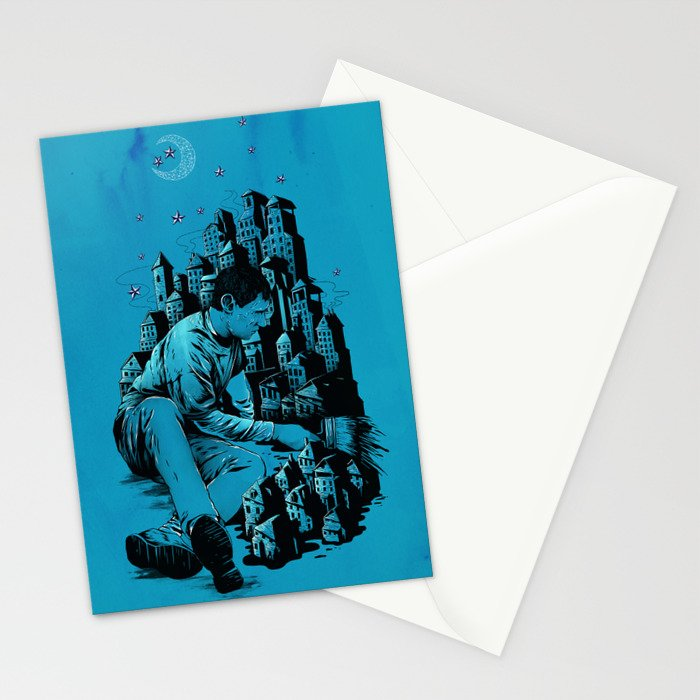 The Village Painter Stationery Cards