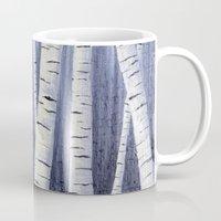birch Mugs featuring Birch by Sarah Yee