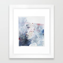 small piece 48 Framed Art Print