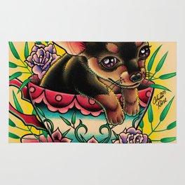 Tea Cup Pup Rug