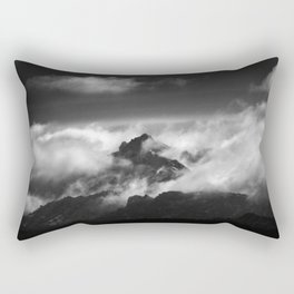 """Only one moment"" Rectangular Pillow"