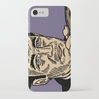 "popeye iPhone & iPod Cases featuring The French Connection: Jimmy ""Popeye"" Doyle by Mike Hague Prints"