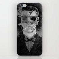 smoking iPhone & iPod Skins featuring Smoking by Havier Rguez.