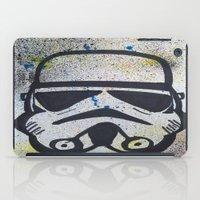 trooper iPad Cases featuring Trooper by Cyndi Sabido