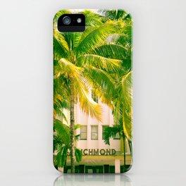Art Deco Miami Beach #17 iPhone Case