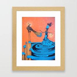 Caesalpinia Framed Art Print