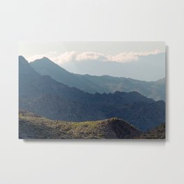 Safe Passage From Palm Springs to Idyllwild Metal Print