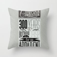 Spontaneous Combustion Throw Pillow