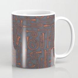 Horns COPPER Coffee Mug