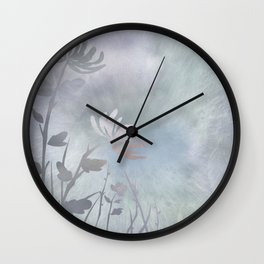 Summer In Pastels Wall Clock