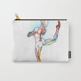 Flexta, female ballerina anatomy, NYC artist Carry-All Pouch