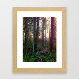 magic hour Framed Art Print