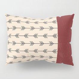 RED ARROW PATTERN Pillow Sham