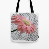 passion Tote Bags featuring passion by  Alexia Miles photography