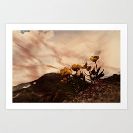 Hot and Hot Art Print