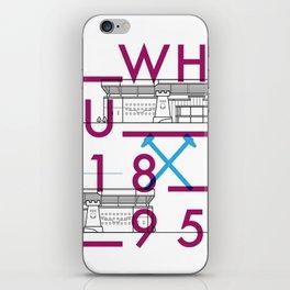 Upton Park - Football Stadiums Series iPhone Skin