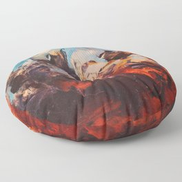Otherwordly Things Floor Pillow