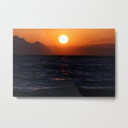 Watch the Sunset Metal Print