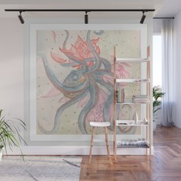 Colorful Entanglement Wall Mural