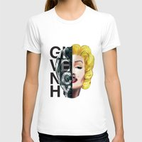 givenchy T-shirts featuring Sin by Givenchy by Javier Camacho