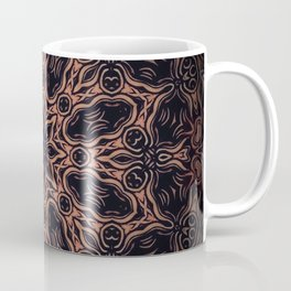 Autumn Equinox // Witch Season Magical Rustic Earthy Dark Black Witchy Star Energy Winter Coffee Mug