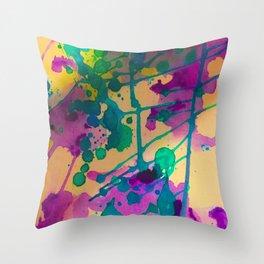 Ink Goddess Throw Pillow