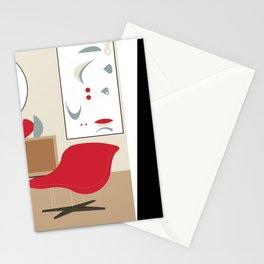 Inside Mid-century modern 119 Stationery Cards