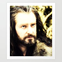 thorin Art Prints featuring Thorin by Jetachi