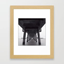 Deal Pier Framed Art Print