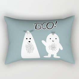 Boo! Funny Ghosts Rectangular Pillow