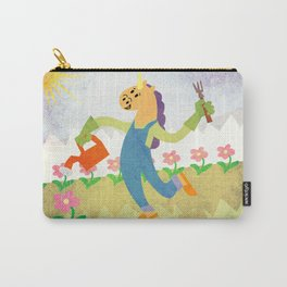 Gardening Unicorn Carry-All Pouch