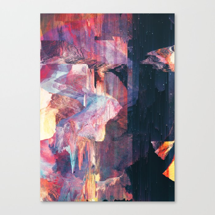 In the club Canvas Print