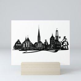 Moers Skyline Mini Art Print