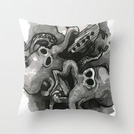Onslaught Throw Pillow