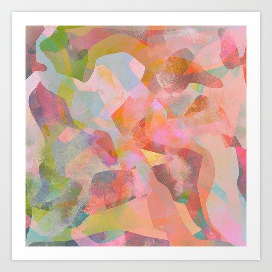 Camouflage XXVII Art Print