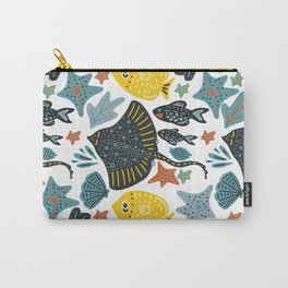 Sea Pattern #3 Carry-All Pouch