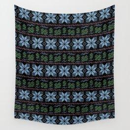 Scandinavian Christmas ornament.2 Wall Tapestry