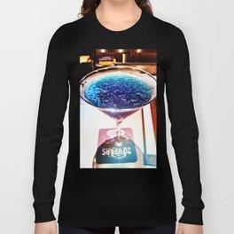 Deep Blue Reflection Long Sleeve T-shirt