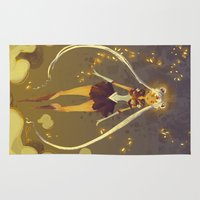 sailormoon Area & Throw Rugs featuring SailorMoon by samanthadoodles