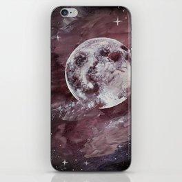 Galaxy Moon iPhone Skin
