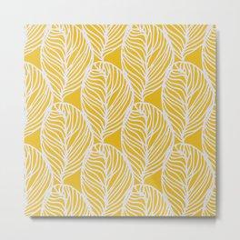 Petaluma, yellow Metal Print